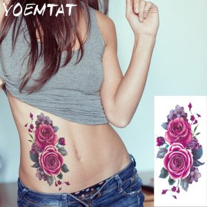 Temporary Tattoo Sticker Women